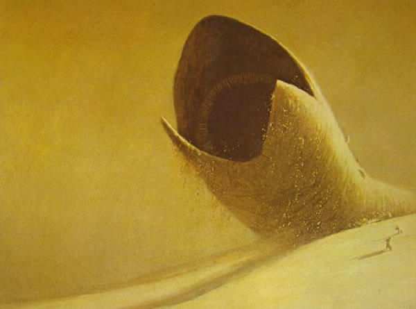 Watch out for the sandworm!