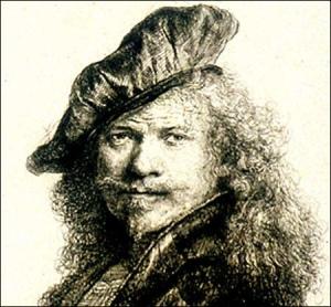 Ole crazy-eyes Rembrandt