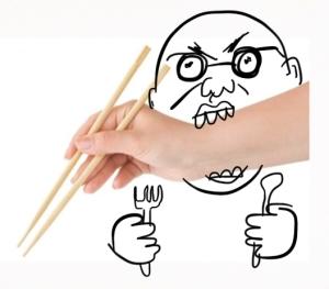 I hate chopsticks